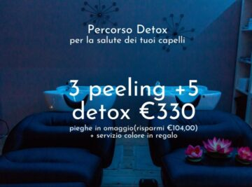 PERCORSO DETOX (HAIR SPA)